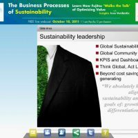 The Business Processes of Sustainability: Learn How Fujitsu 'Walks the Talk' of Optimizing Sustainability and Driving Value
