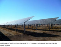 Solar Roundup: NRG Solar; Distributed Sun; Duke Energy Renewables