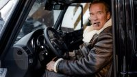 'The Terminator' Helps Launch New Mercedes-Benz EV