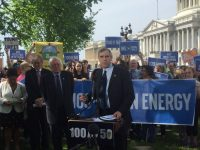 100% Clean Energy Bill Launched by US Senators Merkley, Sanders, Markey, and Advocates