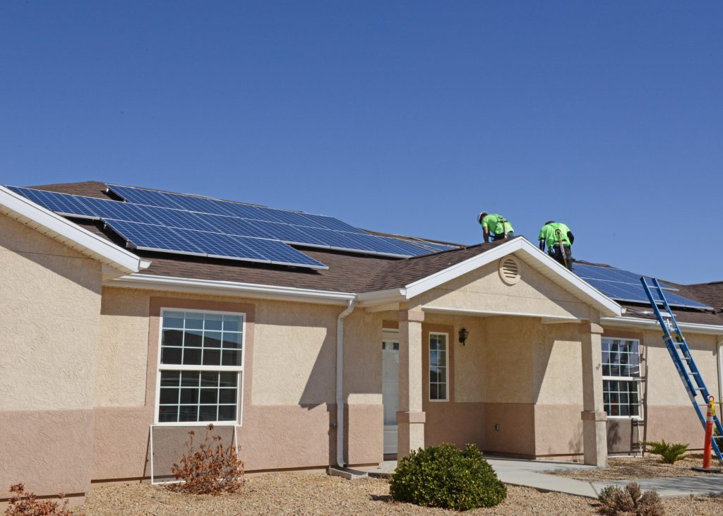 Edwards Air Force Base solar panels installation PV power