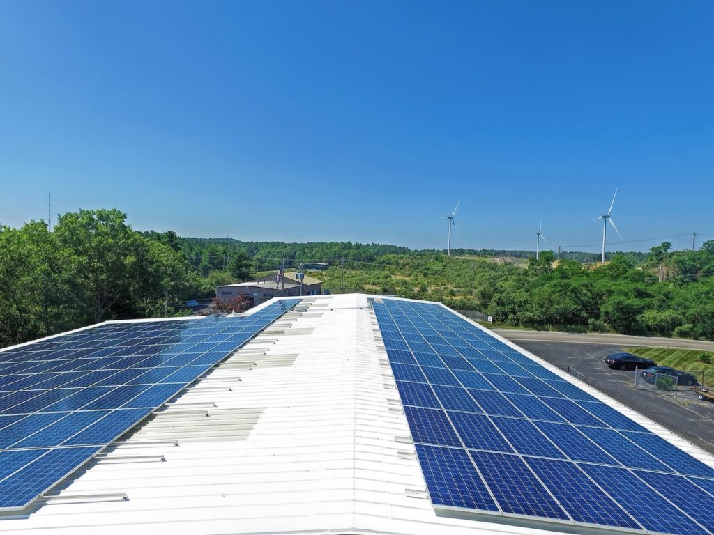 Northeast Automatic Sprinkler massachusetts solar array facilities