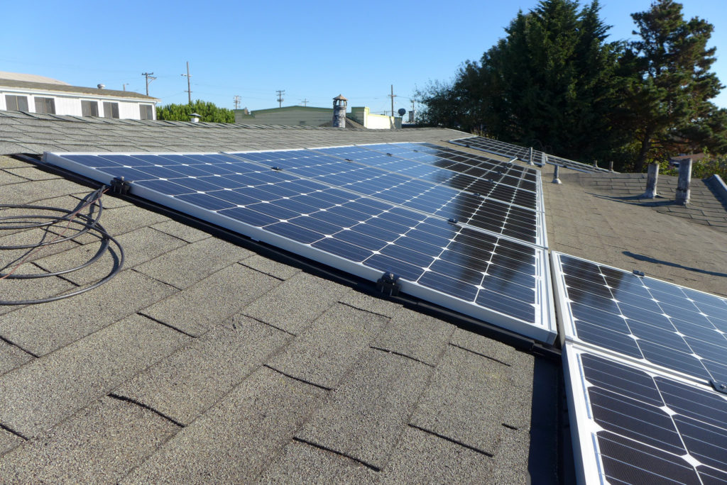 California rooftop solar building code change