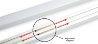 Product Announcement: LED Magnetic Channel Adds Ease When Integrating LED into Metal Fixtures