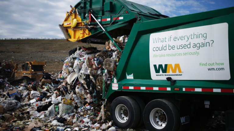 Waste Management Unveils Its New Waste To Gas Facility In