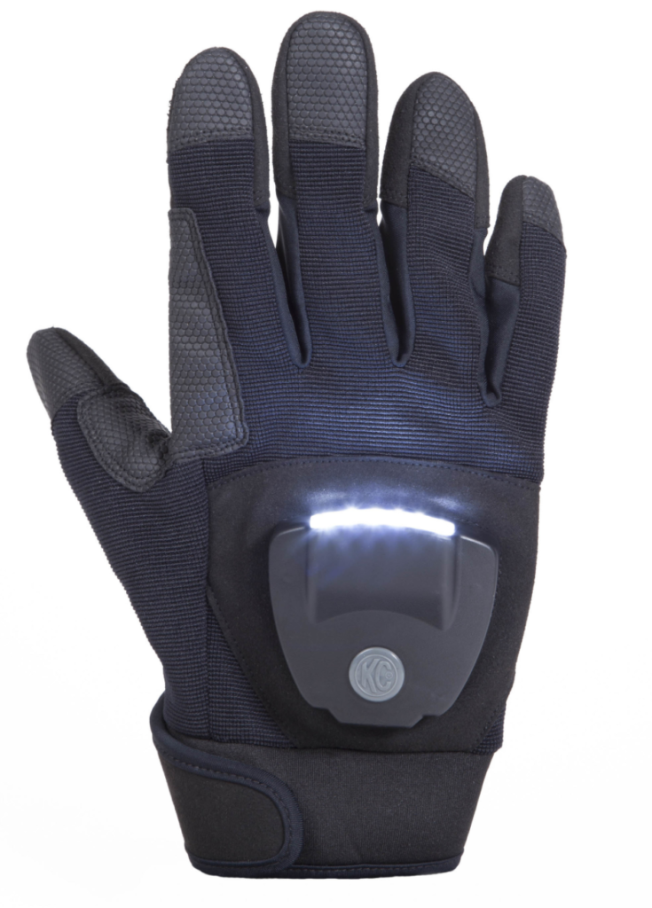 Designed And Engineered In The US, The Patented KC LED Light Gloves Give  Users The Versatility Needed To Light Up Every Job ...
