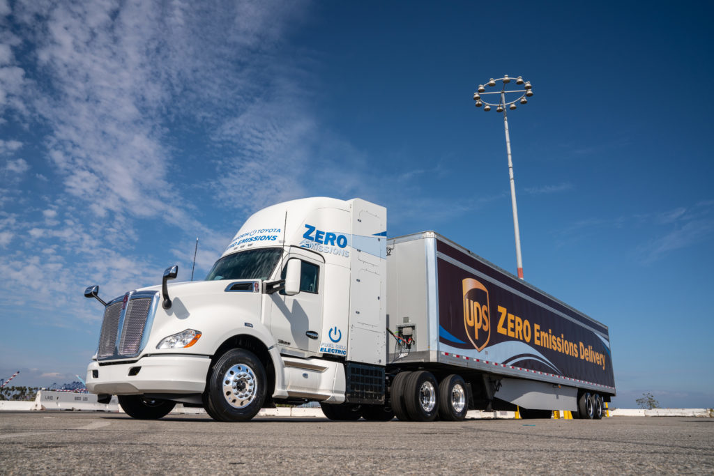 Toyota and Kenworth Roll Out Zero-Emission Trucks in California