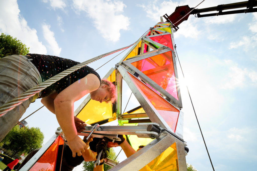 Belgian Music Festival Pilots Portable Renewable Energy Tower
