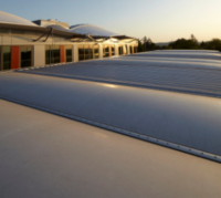 Bavarian Building Coated in 'Frozen Smoke' Saves Energy