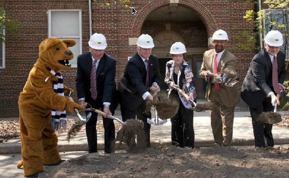 Breaking Ground for Penn State energy building