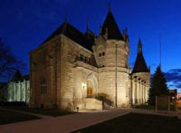 Acuity LED Floodlights Illuminate Castle; Rambus Expands LED Portfolio