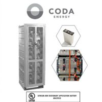 CODA Energy 50 kWh Storage Tower Achieves UL Certification