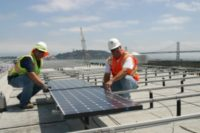 San Francisco Exploratorium at Pier 15 Powered 100% by Solar