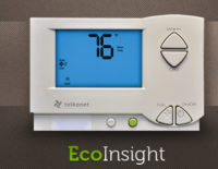 Smart Thermostat Learns Room Energy Needs