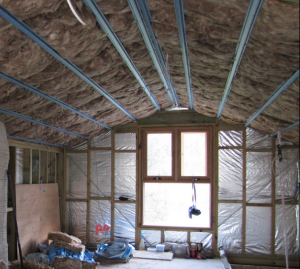 Energy efficiency insulation