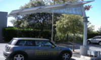 Solar Trees Provide Shade, Electricity, EV Charging