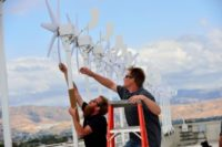 Micro Wind Turbines Top Intel Headquarters