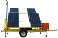Larson Releases a Solar Powered Generator with Manual Crank Mast