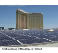 MGM Resorts Plans 6.2 MW Roof-Top Solar