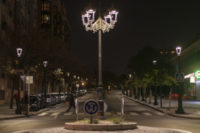 LEDs Light Up Madrid