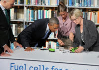 Obama fuel cell
