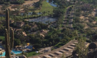 Solar Blends with Surroundings at Resort