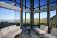 Solar Activated Tinting Glass Needs No Electronics