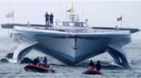 Swiss Solar Boat Sets Speed Record For Transatlantic Crossing