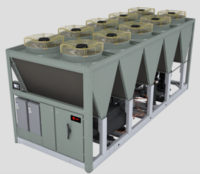 Air-Cooled Chillers Use Environmental Friendly Refrigerant