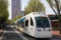 Portland Light Rail Captures Energy From Brakes