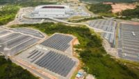 FIFA World Cup Stadium Installs Solar Modules