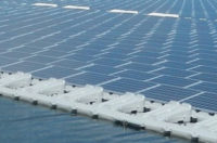 floating solar energy manage