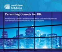 Gensets in Demand Response Programs Generate Revenue, Decrease Outages