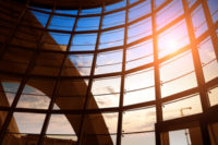 Hydronic Heating and Cooling Addresses Glass Building HVAC Challenges