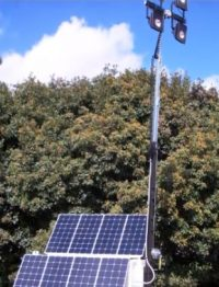 Portable Solar Light Towers Bring On-Site LED Lighting