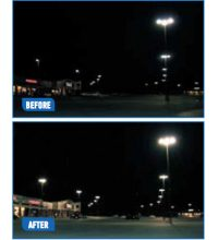 Lighting Retrofit Saves Shopping Center $42,500 Annually