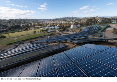 solar at Occidental College