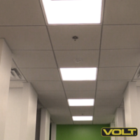 LED Panel Light Replaces Fluorescents